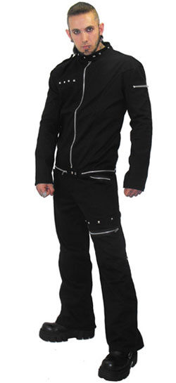 Lothur Pyramid Stud Jeans, Price: $64.4, Mens gothic, industrial and...